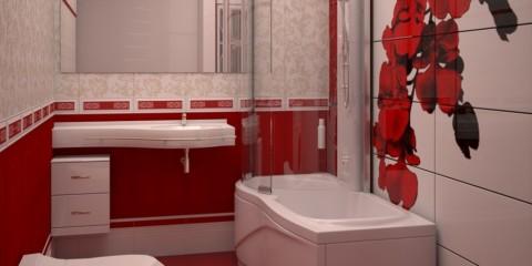 Conception d'une salle de bain à Khrouchtchev