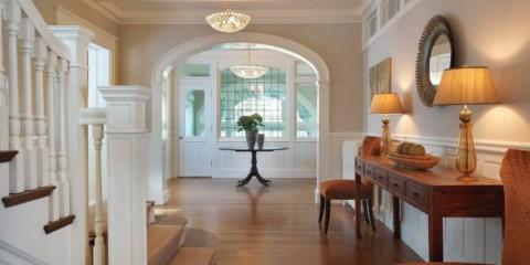 Hall dans la maison et l'appartement photo
