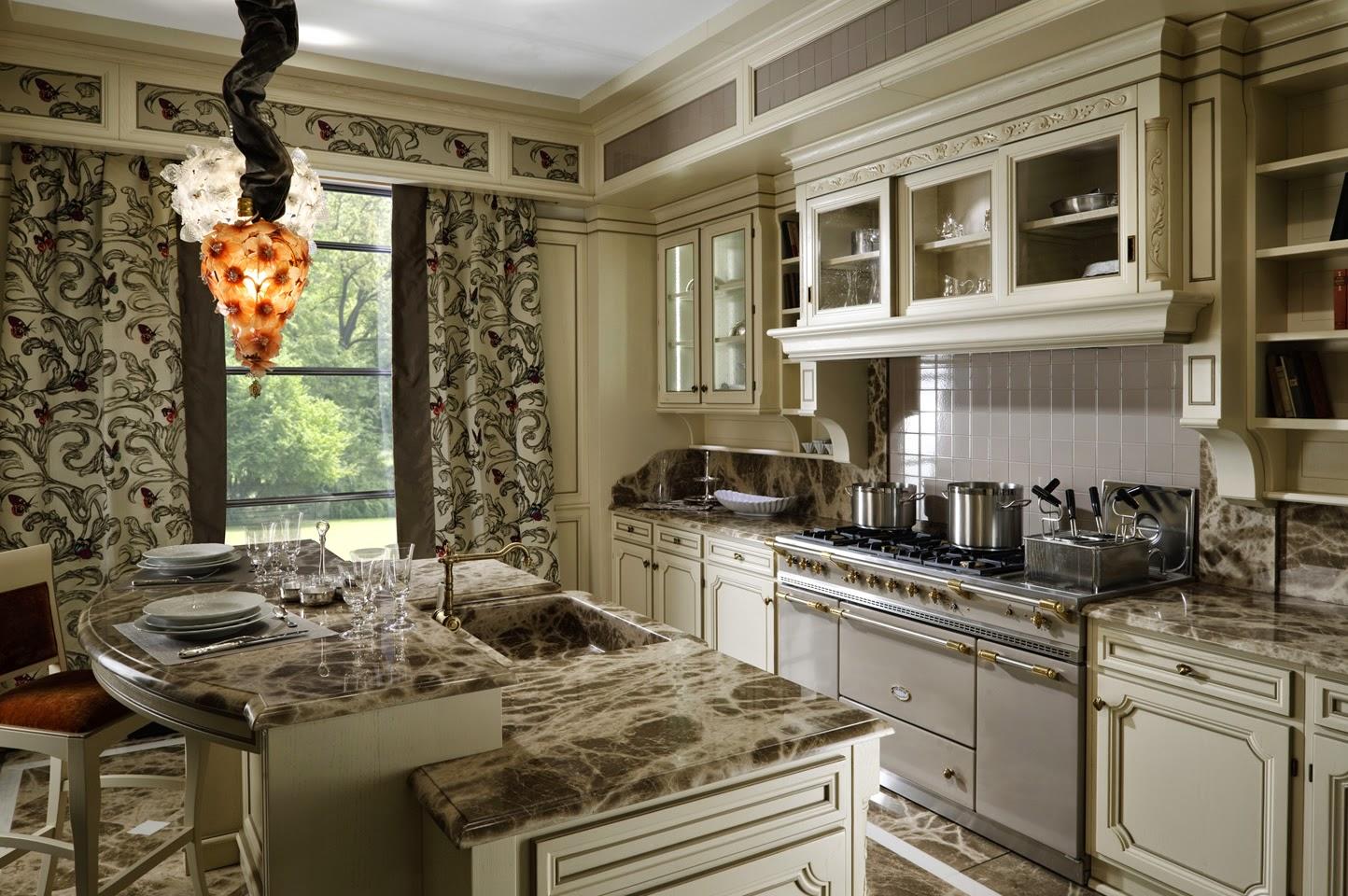 Design de bucătărie italiană interior