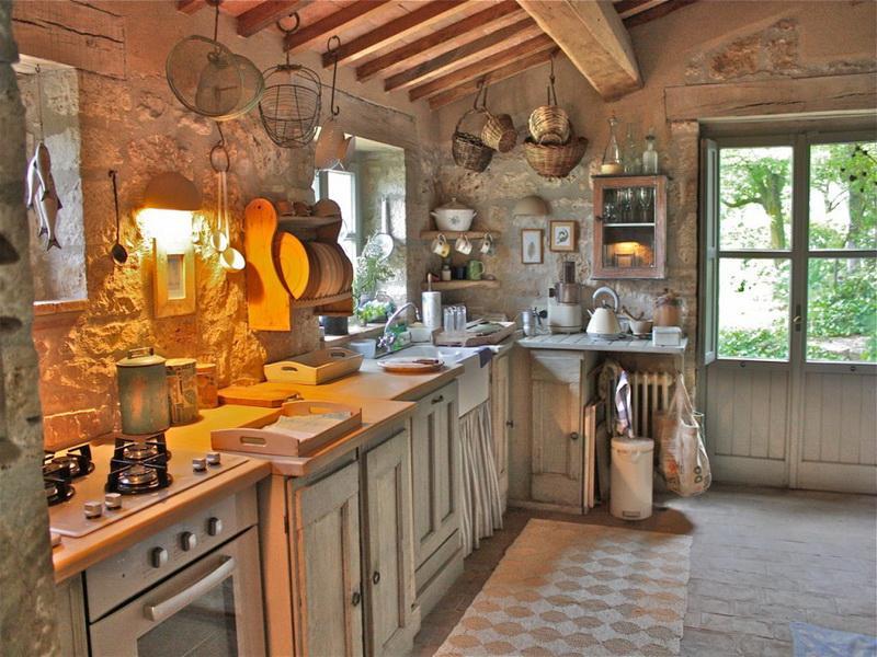 idei interioare din bucătăria italiană
