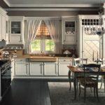 fotografie de design de bucătărie în stil italian