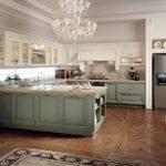 interior stil de bucătărie în stil italian