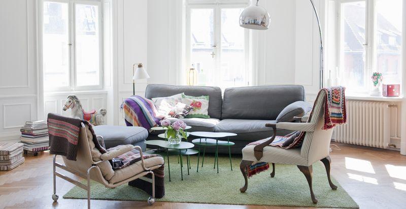 Thiết kế trung tâm phòng khách