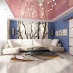 Trang trí phòng khách với hình nền hồ trăn và hình ảnh