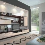 Thiết kế phòng khách có hốc tường với TV