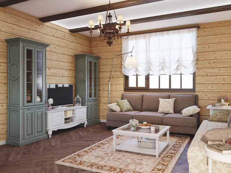 Trang trí phòng khách theo phong cách Provence