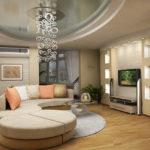 Trang trí phòng khách theo phong cách tương lai