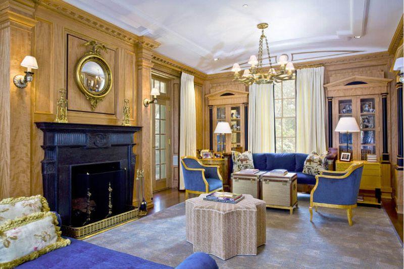 Trang trí phòng khách theo phong cách cổ điển