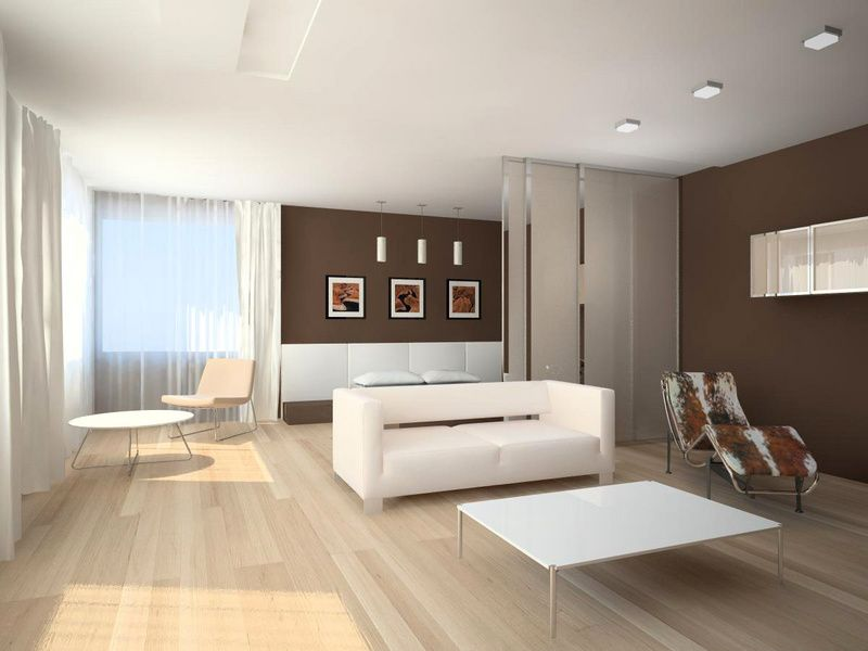 Phong cách trang trí phòng khách tối giản