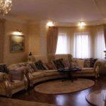 Thiết kế phòng khách nhỏ theo phong cách cổ điển