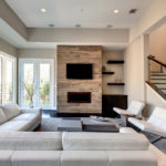 Thiết kế tối giản của một phòng khách nhỏ