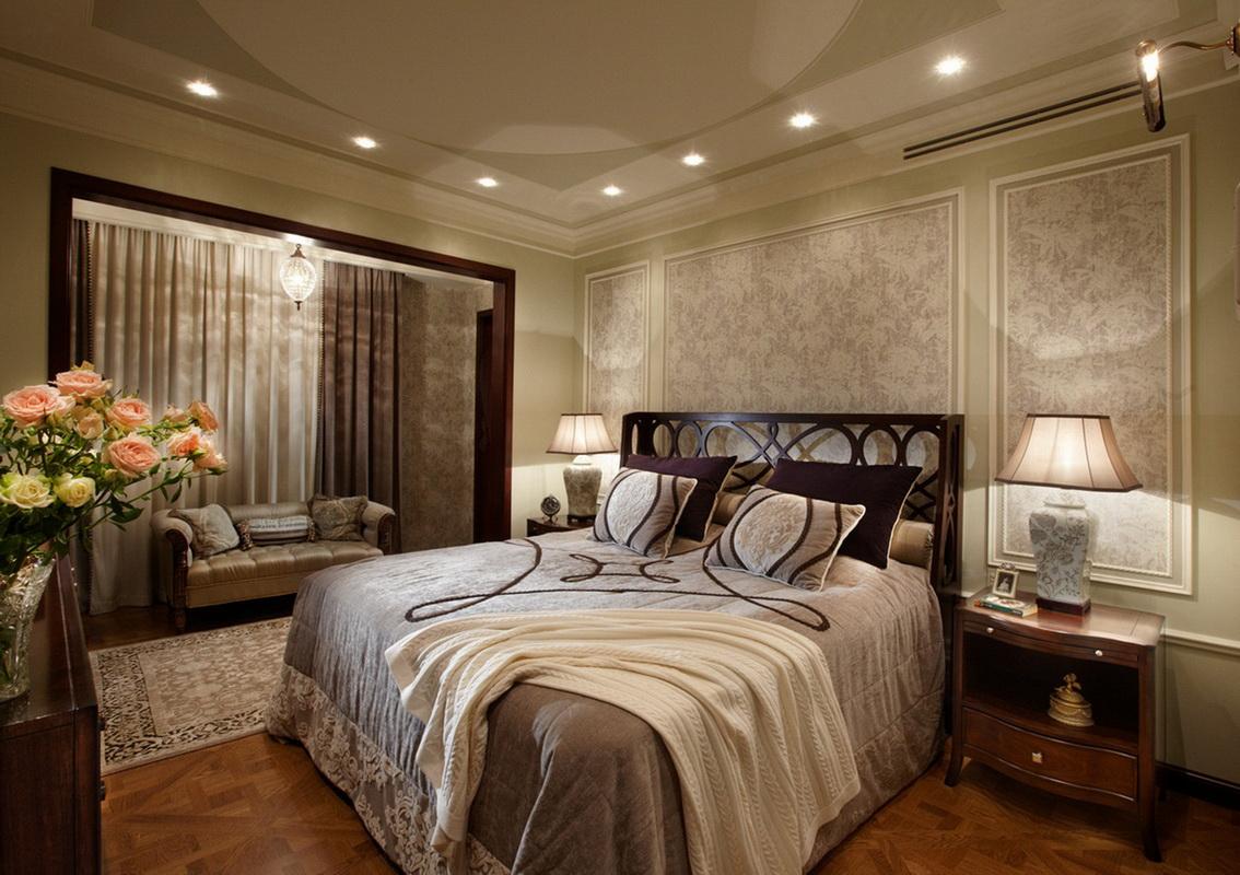 design de chambre de luxe avec balcon