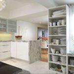 fotografie de decor de bucătărie modernă