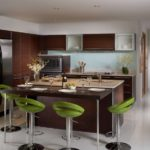 decor modern de fotografie de bucătărie
