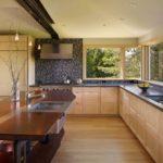 fotografie interioară bucătărie modernă