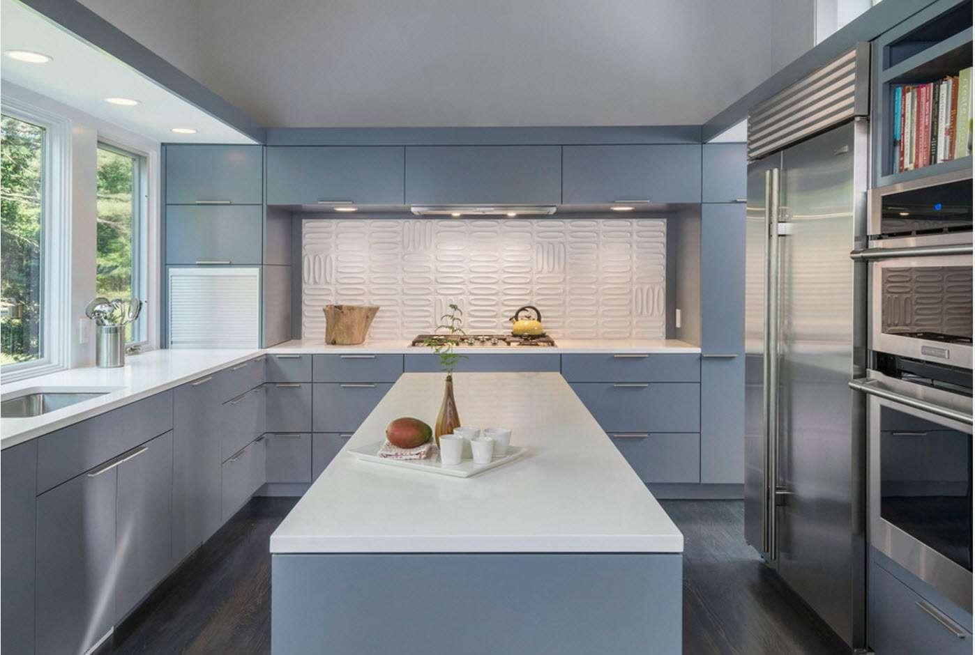 fotografie de bucătărie modernă