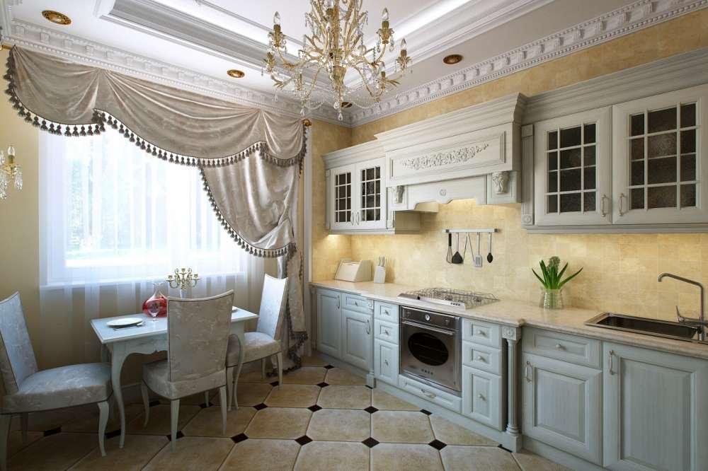 bucătărie în stil clasic