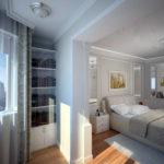 chambre avec balcon photo design