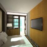chambre avec balcon photo intérieur