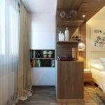 chambre avec des idées de conception de balcon