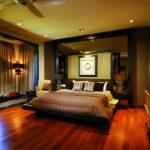 chambre avec balcon design moderne