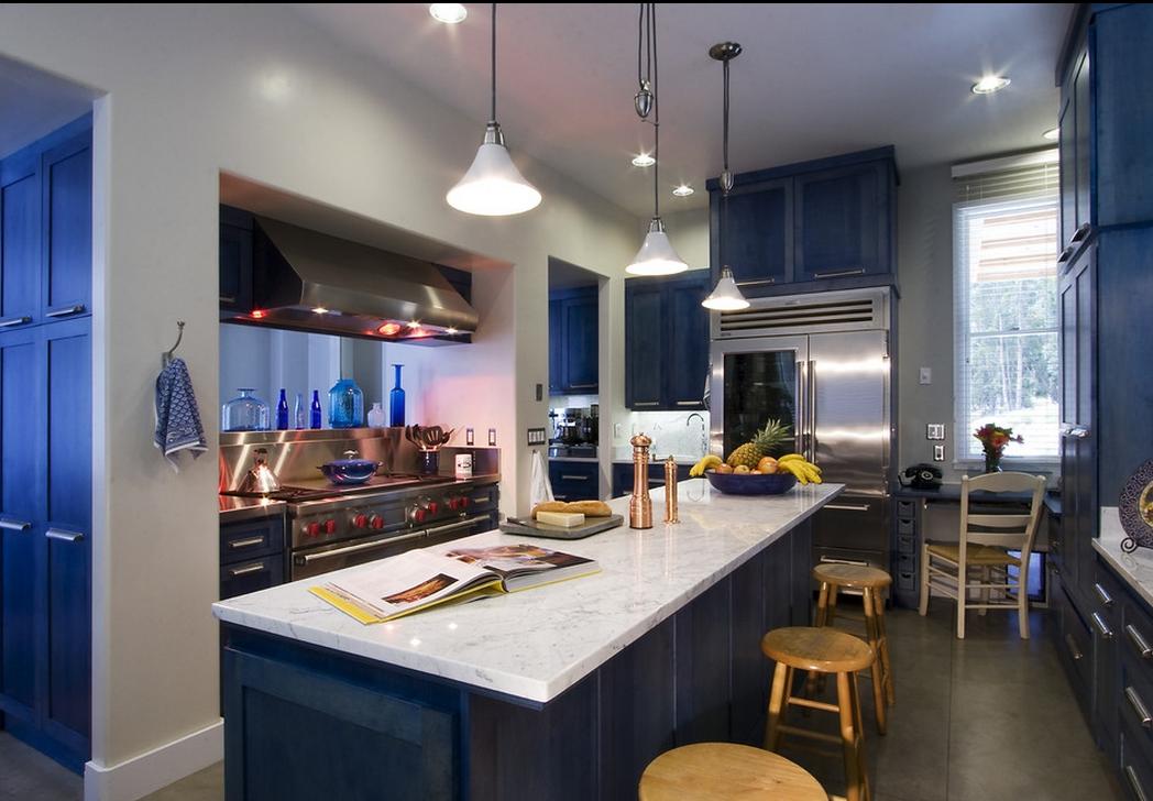 beau salon de cuisine design