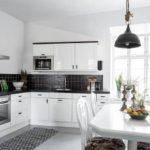 salon cuisine design 15 m² photo