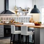 salon cuisine design 15 m² idées photo