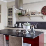 salon cuisine design 15 m² design photo