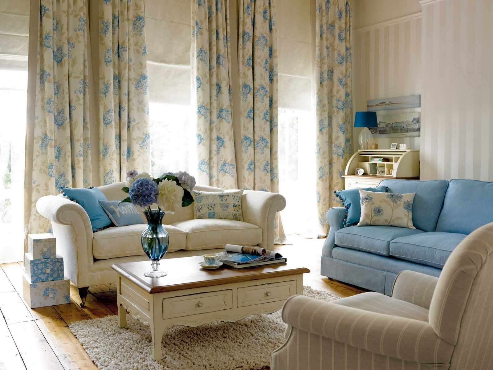 ý tưởng về một phong cách khiêu khích đẹp trong phòng khách