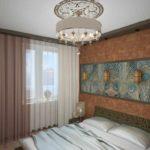 l'idée d'une image de chambre étroite de beau style