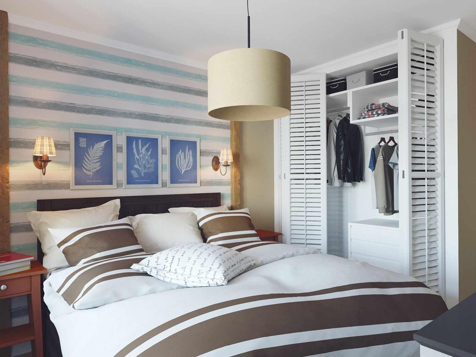 variante d'un bel intérieur de chambre