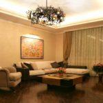 ví dụ về một hình nền nội thất khác thường cho hình ảnh phòng khách