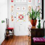 idée d'un couloir de beau style dans une maison privée photo