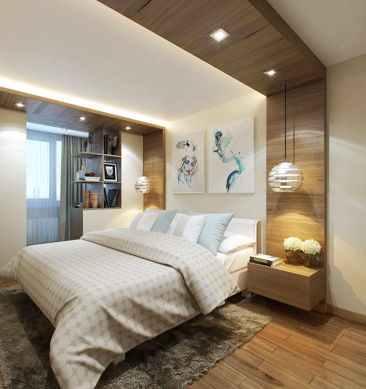 Un exemple de décor de chambre clair