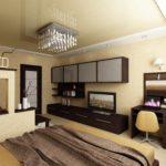 option d'un beau style d'une chambre photo 15 m²