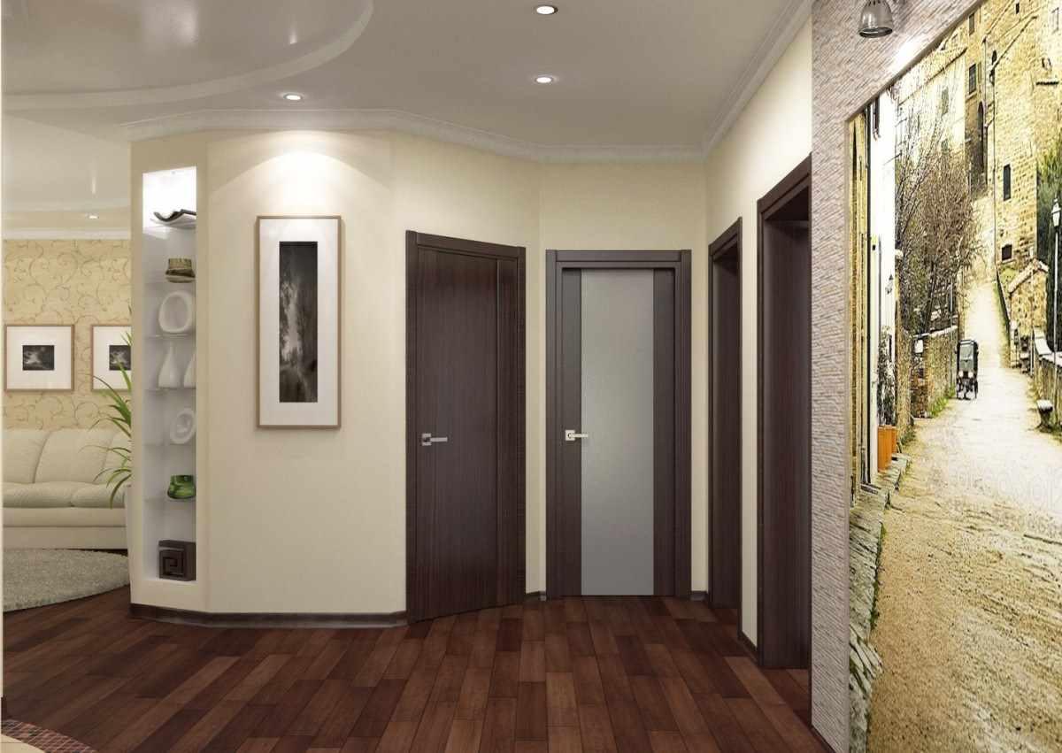 idée d'un couloir intérieur lumineux dans une maison privée