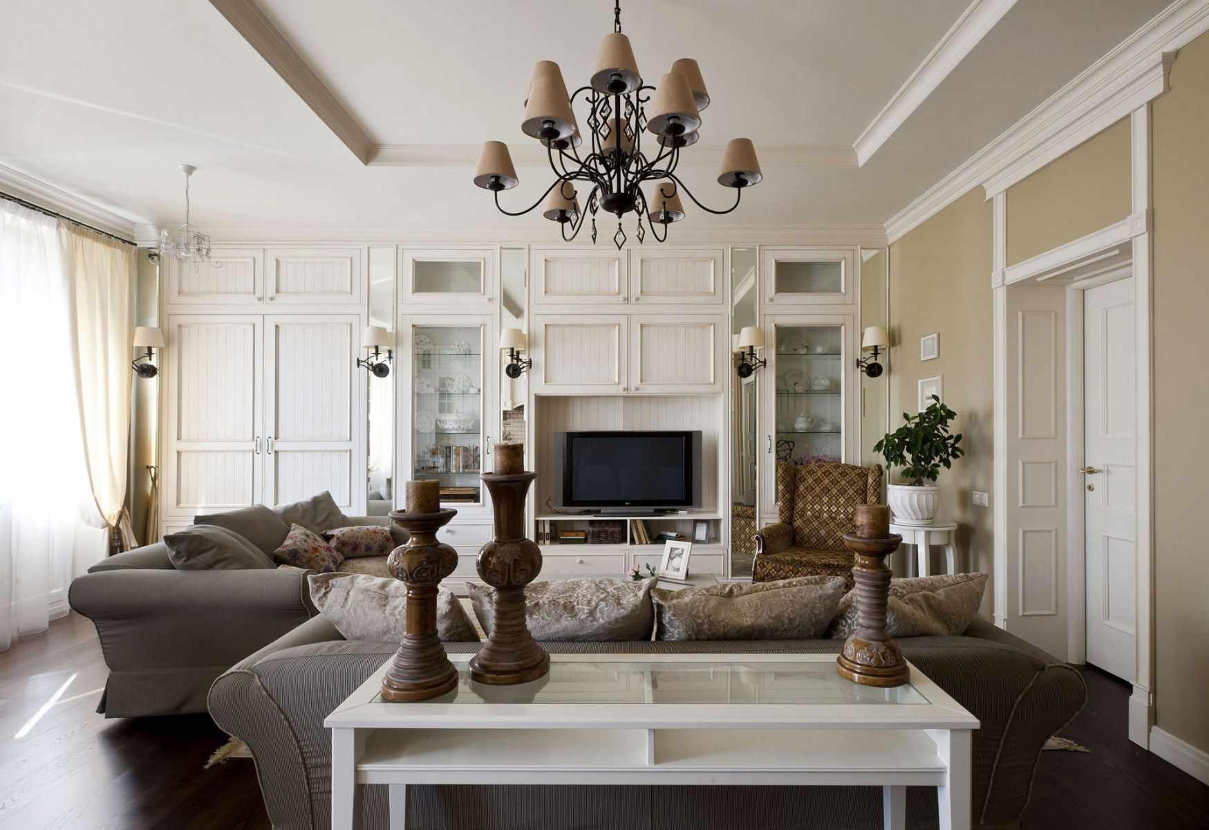 ý tưởng về một sự chứng minh nội thất khác thường trong phòng khách