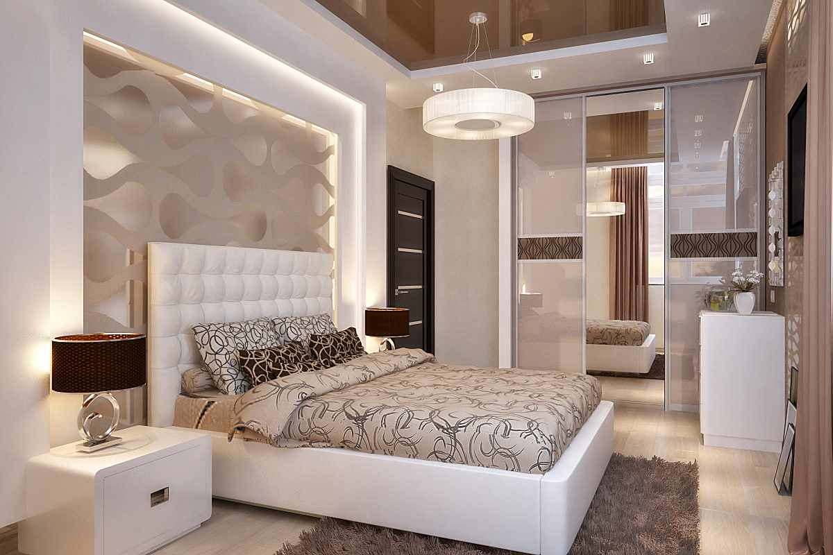 exemple d'une belle chambre intérieure de 15 m²