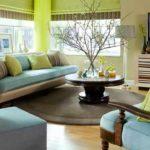 idée de papier peint intérieur inhabituel pour la photo du salon
