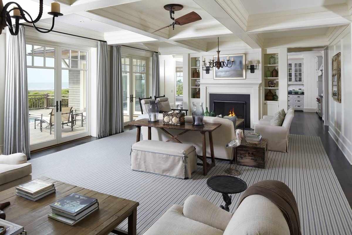 phiên bản của một thiết kế đẹp trong phòng khách