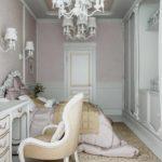 Un exemple d'une chambre lumineuse décor 15 m² photo