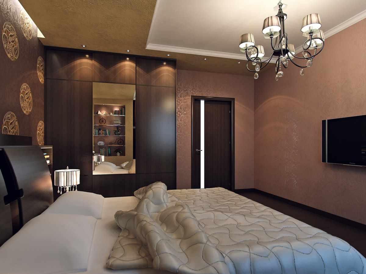 idée de design lumineux d'une chambre de 15 m²