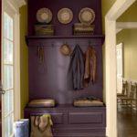 idée d'un design inhabituel d'un couloir dans une maison privée photo
