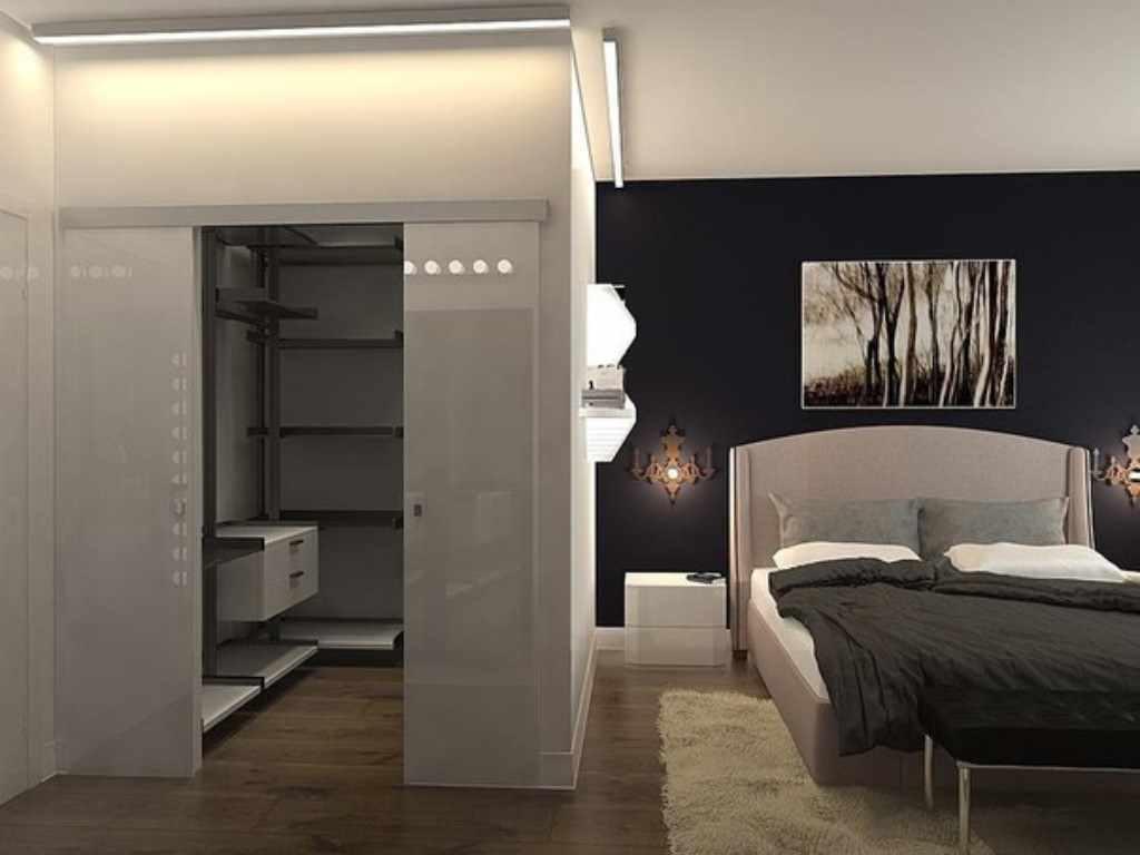 Un exemple d'une belle décoration de chambre de 15 m²