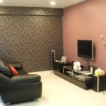 ý tưởng về một phong cách đẹp của giấy dán tường cho bức tranh phòng khách