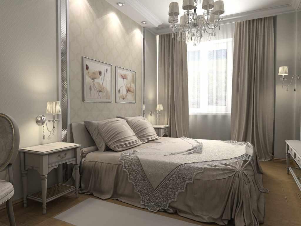 l'idée d'un beau style de chambre étroite