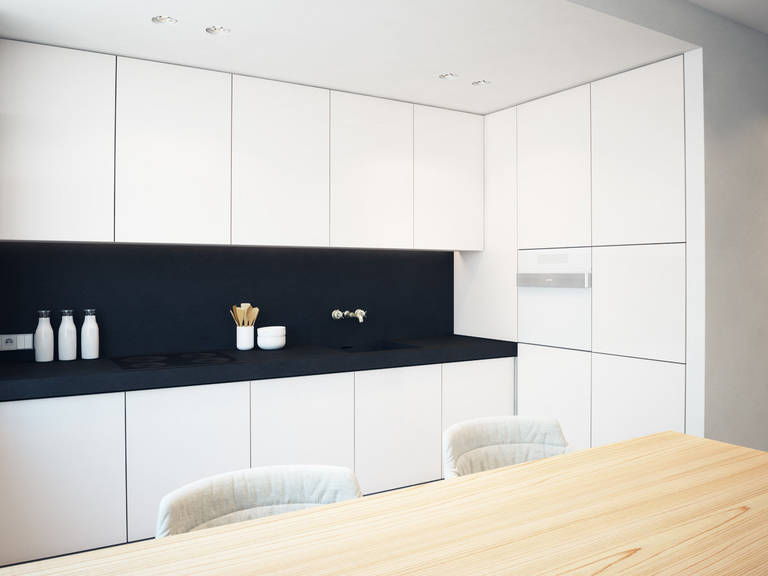 cuisine salon minimalisme