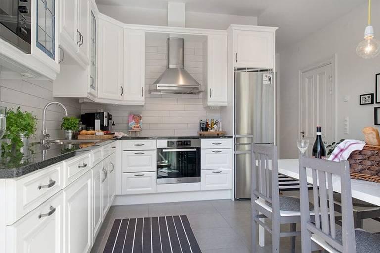 séjour lumineux cuisine 15 m²