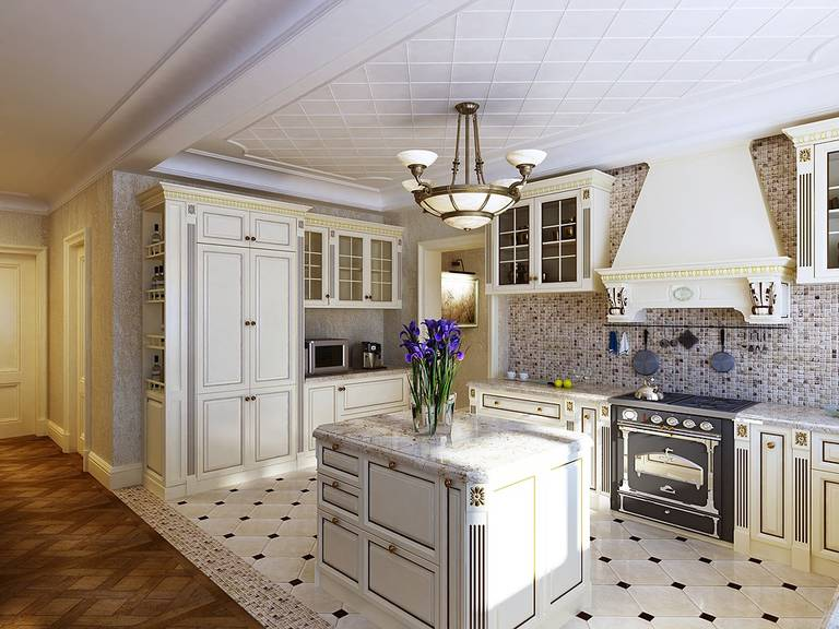 sélection de meubles pour la cuisine du salon